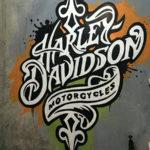Harley Davidson signage