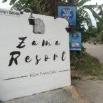 zama resort sign