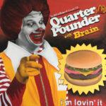 brain burger zombie