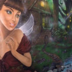 fairy magic mural