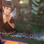 fairy land mural