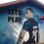 lets play football mural