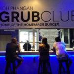 grub club signage
