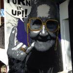 Comedy granny sign
