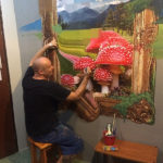 christopher thomas painting toadstools