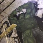 hulk mural