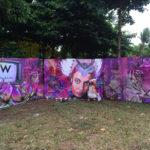 W hotel festival murals