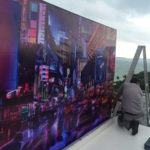 W hotel city mural