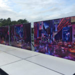 outdoor murals w hotel
