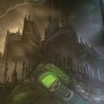 lightning night mural