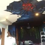 alien invasion full room mural