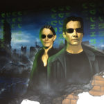 matrix wall mural