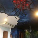 aliens mural ceiling