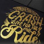 crash ride sign