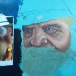 painting explorer mural