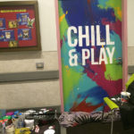 W hotel mural chill play painted door