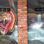 jungle experience mural