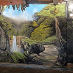 nature jungle mural