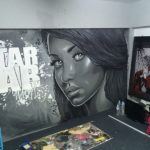 Star Lab studio mural