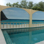 swimming pool walls