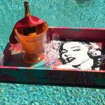 marlin monroe wine tray