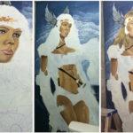 painting goddess mural