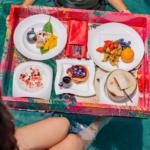 W Hotels food tray