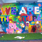 we are the future mural