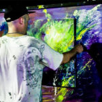 christopher thomas live painting