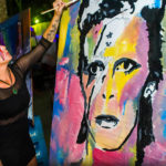 david bowie live painting