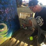 christopher thomas spray paint