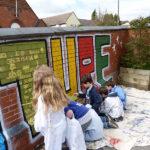 community wall painting uk